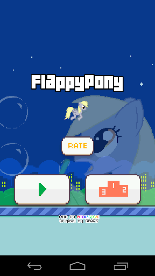 Flappy Pony- screenshot