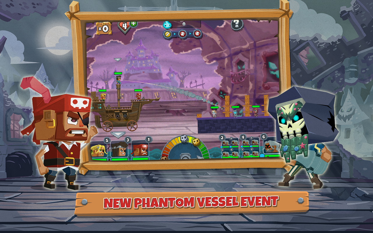 Pirate Bash - Revenue & Download estimates - Google Play