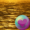 Glitter Gold Color Wallpapers icon