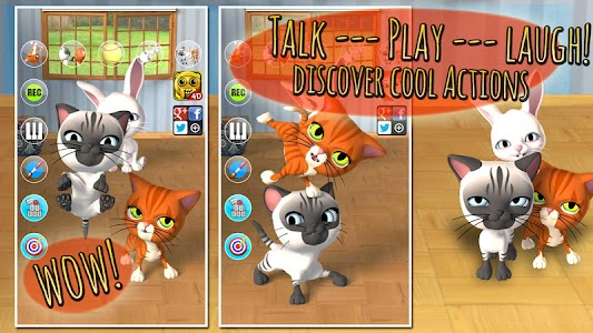 Talking 3 Friends Cats AdFree v3.2