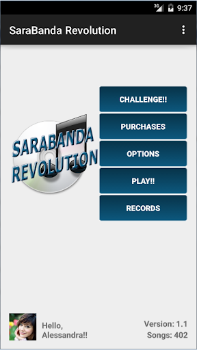 SaraBanda Revolution screenshot