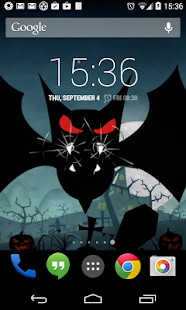 Halloween Live Wallpaper world - screenshot thumbnail