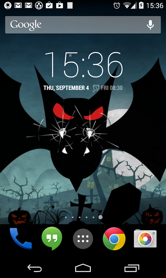Halloween Live Wallpaper world- screenshot