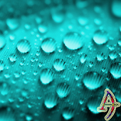 Theme eXPERIAnz Dew Drops Teal