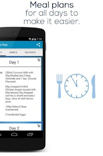 Paleo Diet Plan- screenshot thumbnail