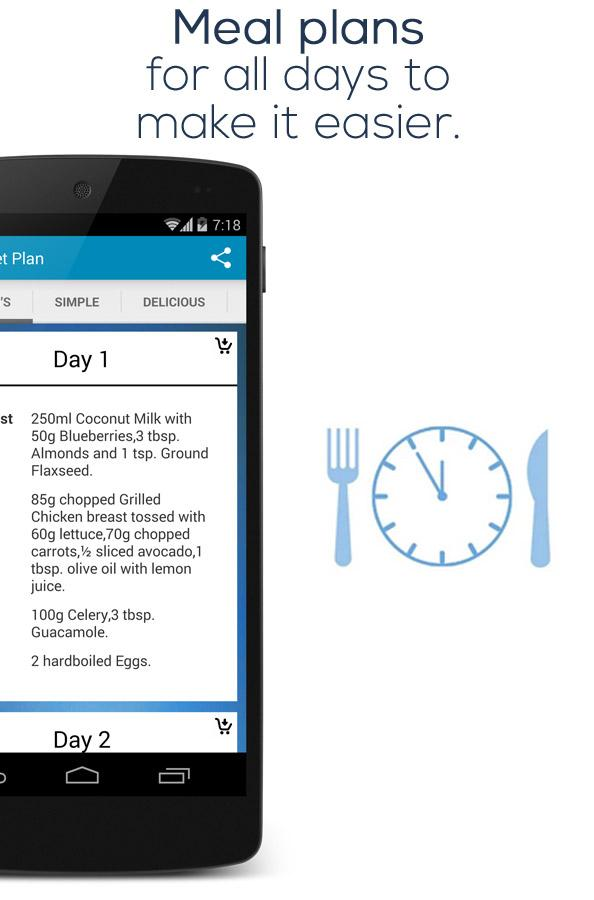 Paleo Diet Plan- screenshot