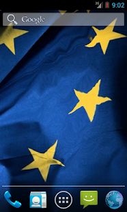 Flag Of European Union LWP - screenshot thumbnail