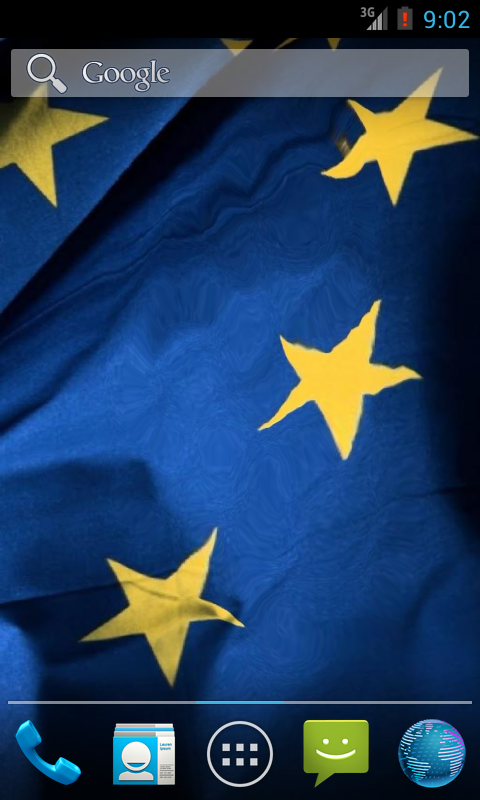 Flag Of European Union LWP - screenshot