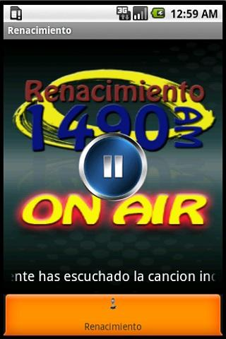 Renacimiento Radio 1490 AM - screenshot