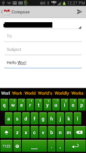 Green Keyboard - screenshot thumbnail