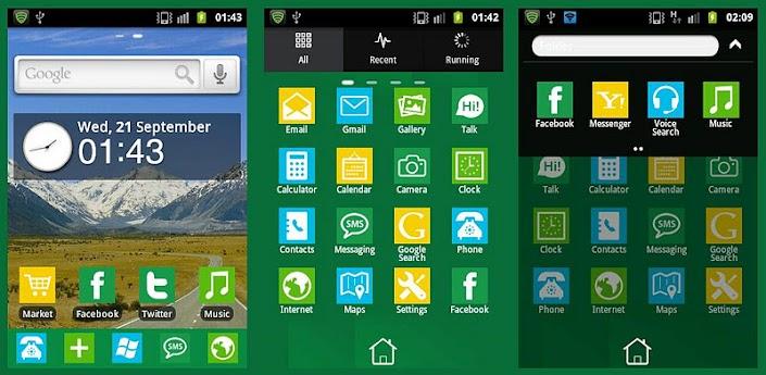 Windows 8 GO launcher Theme