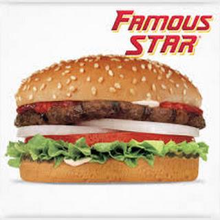 Carl's Jr Famous Star Burger