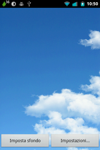 Sky Window Live Wallpaper