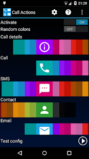 Call Actions- screenshot thumbnail
