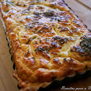 Comfort Food, Macedonia Vegetable Pie with Tuna.