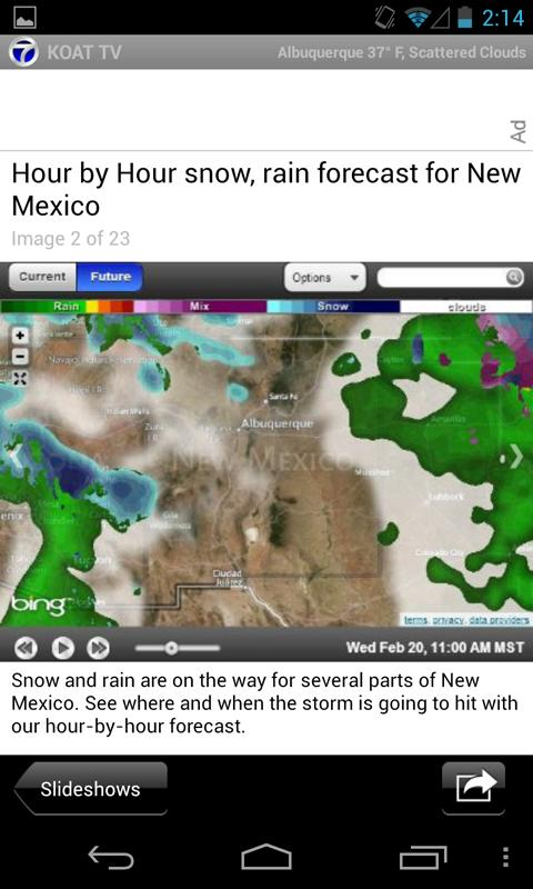 KOAT Action 7 News and Weather - screenshot