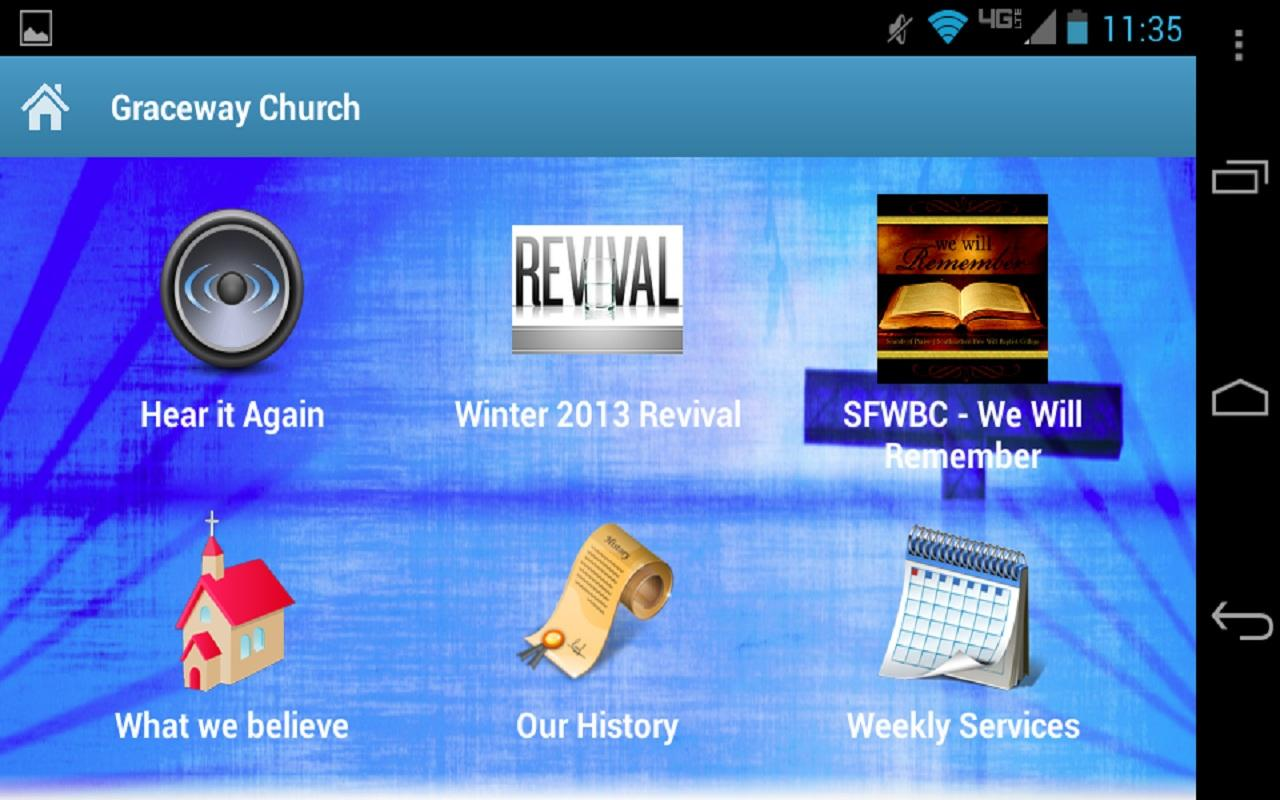 Graceway Church- screenshot