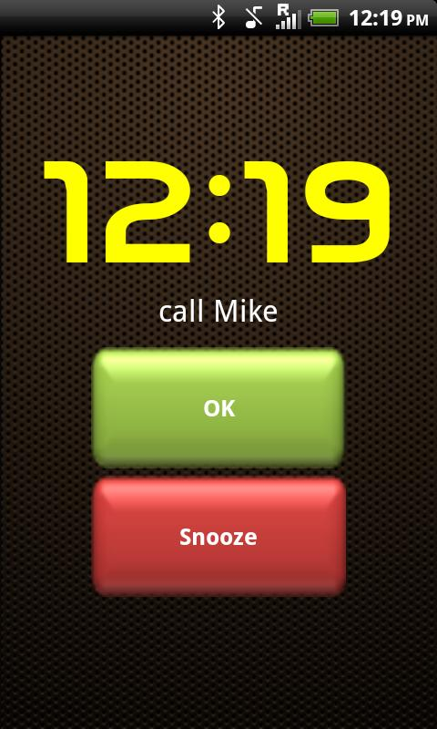 Smart Alarm Clock Free- screenshot