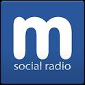 Myxer Social Radio logo