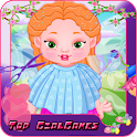 Royal Baby Dress Up Fairy Game icon