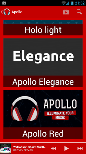 Theme Apollo Red