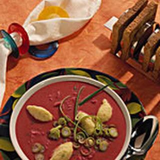 Rode Bieten-zuurkoolsoep