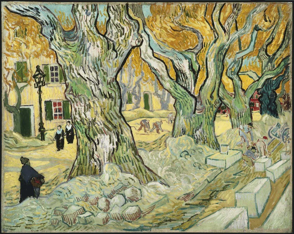The Road Menders Vincent Van Gogh Google Arts Culture
