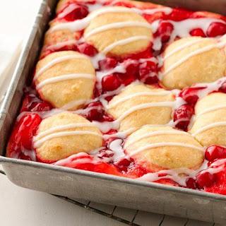 Cherry Swirl Coffee Cake.