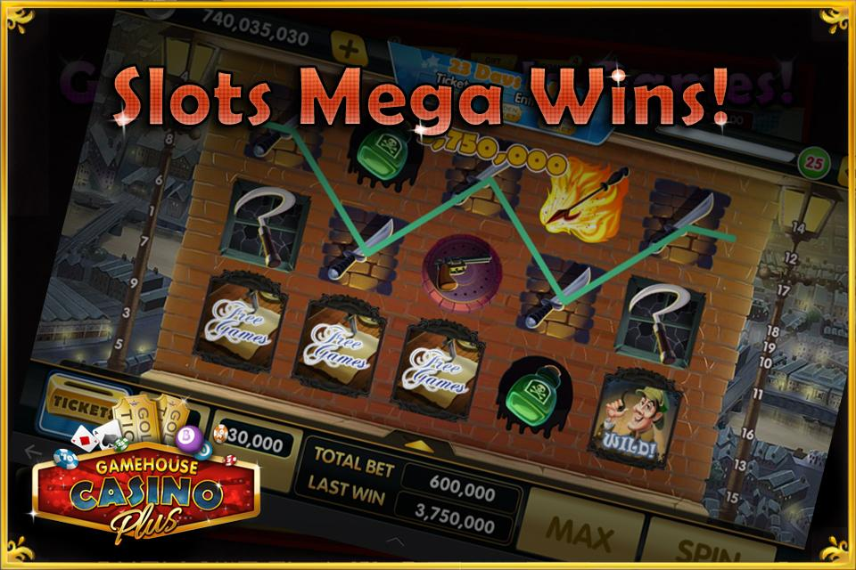 gamehouse casino slots plus