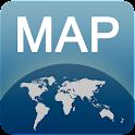 Karte von Menton offline icon