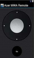 Screenshot of Acer MWA Remote