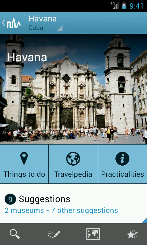 Cuba Travel Guide by Triposo- screenshot