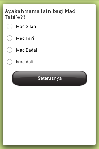 E-Tajwid (Malay) - screenshot