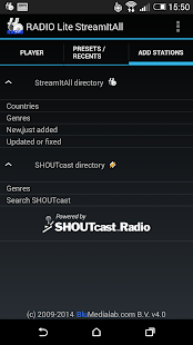 RADIO Lite- screenshot thumbnail