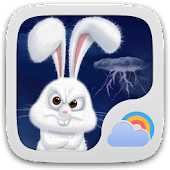 Mr Rabbit GO Weather Theme
