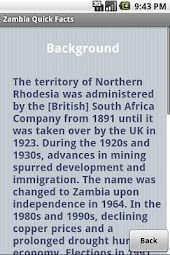 Zambia Quick Facts
