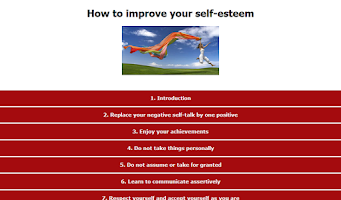 Screenshot of Improve your self-esteem