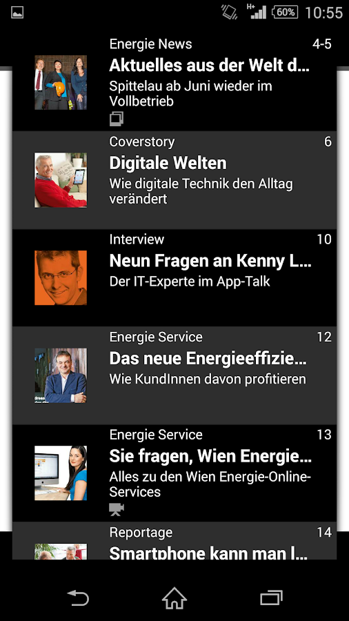 24h Energie! – Screenshot