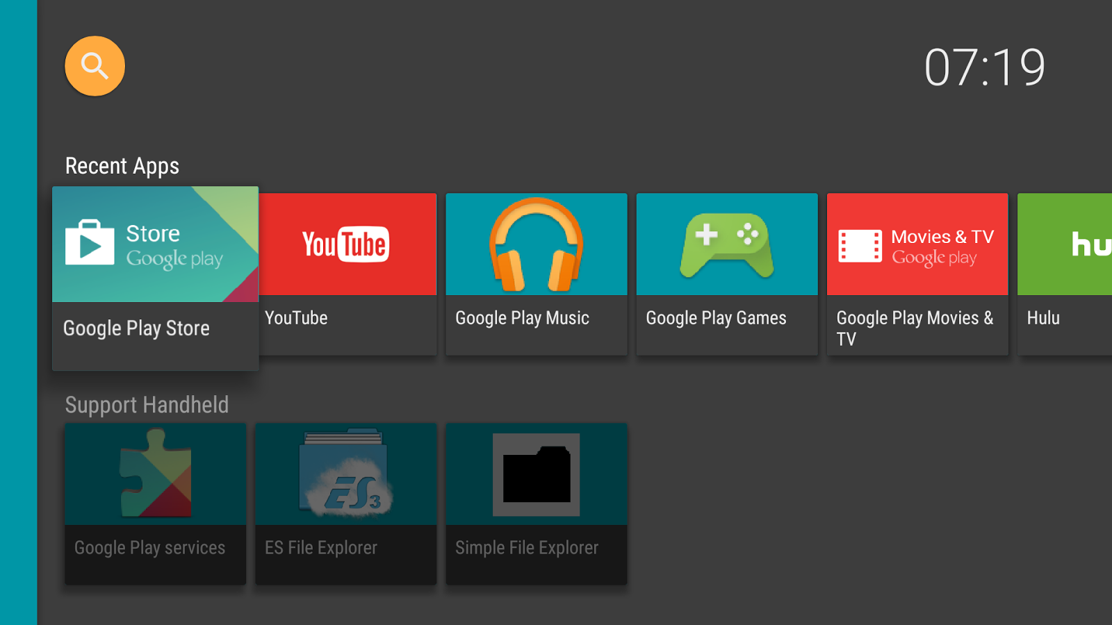 HALauncher - Android TV- screenshot