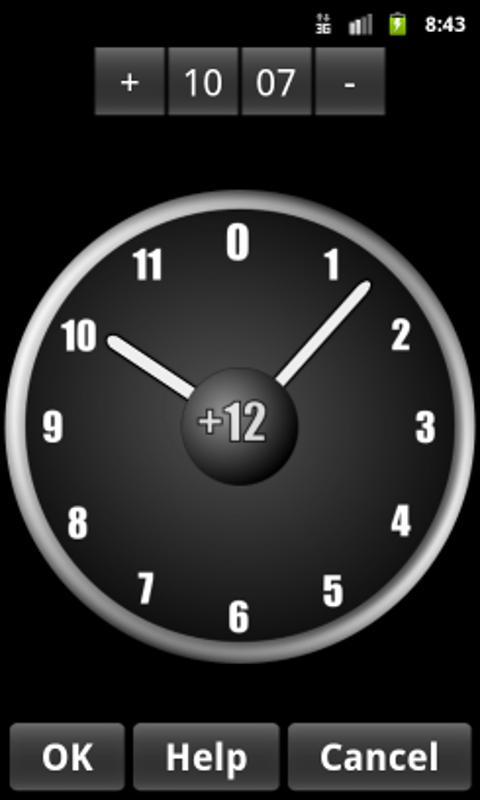 AdyClock - Night clock, alarm- screenshot