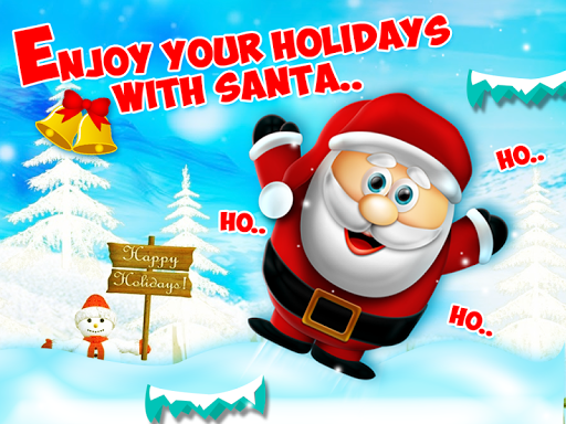 聖誕老人飛兒童聖誕遊戲