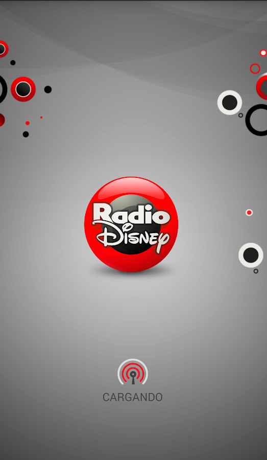 Radio  Disney: captura de pantalla