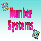 Number System Reference free icon