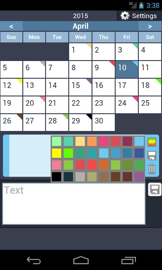 how to change color google calendar