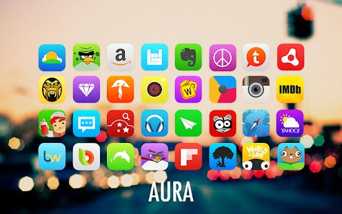 Aura Go Apex Nova Theme
