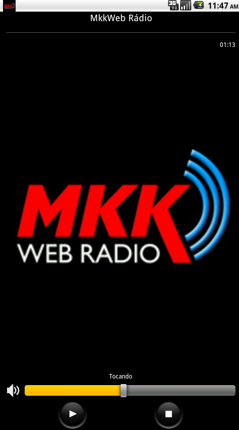 MkkWeb Rádio- screenshot