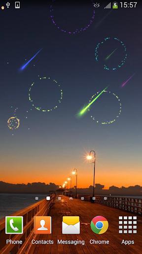 新年流星烟花动态壁纸