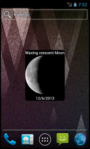 Moon Phases Widget