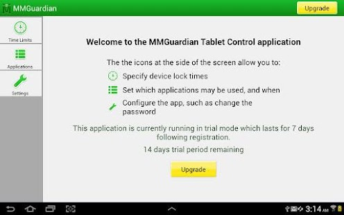 MMGuardian™ Tablet Security - screenshot thumbnail
