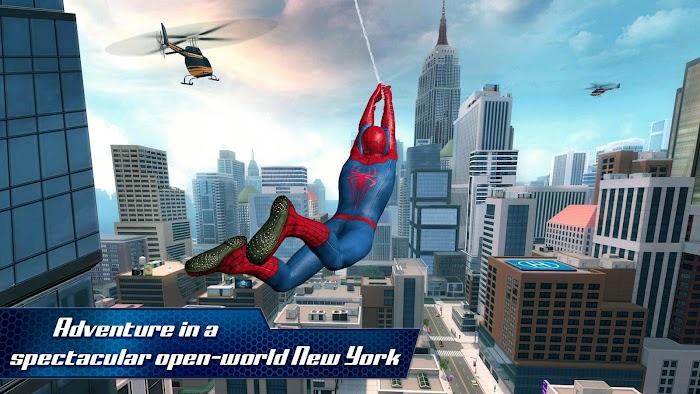 The Amazing Spider-Man 2 MOD Apk + OBB Data [Unlimited Money